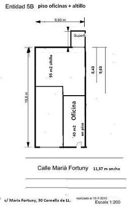 Plano oficinas + altillo 5b